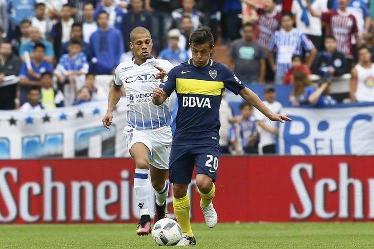 Godoy Cruz y Boca Juniors se enfrentaron en Mendoza. (Foto Prensa Libre: Boca Juniors)