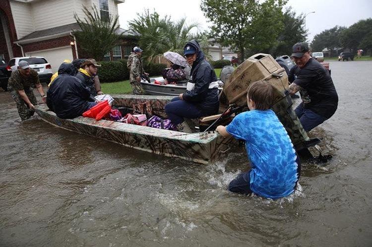 El impacto del huracán Harvey ha sido el más grande después del huracán Rita hace doce años.