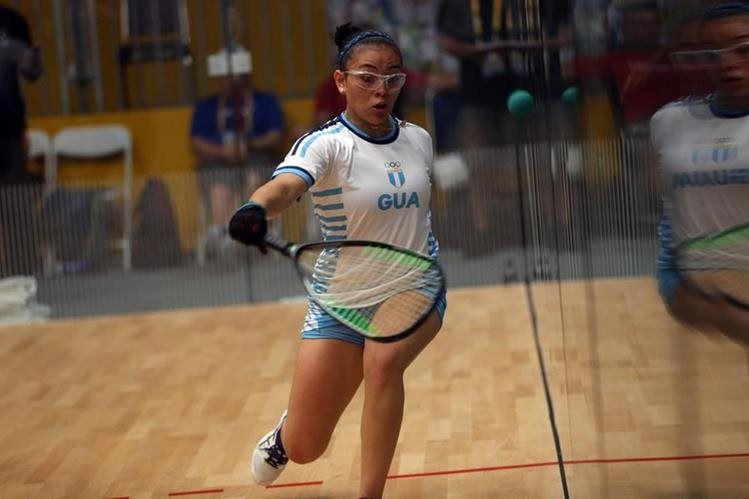 Ana Gabriela Martínez buscará avanzar a las finales del mundial mañana. (Foto Prensa Libre: Cortesía COG)