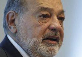 El mexicano Carlos Slim, el cuarto hombre con más dinero del mundo. (Foto Prensa Libre: AP).