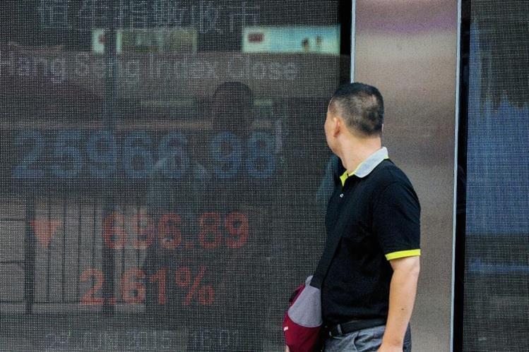 En junio la Bolsa de Hong Kong cerró la jornada con graves pérdidas.