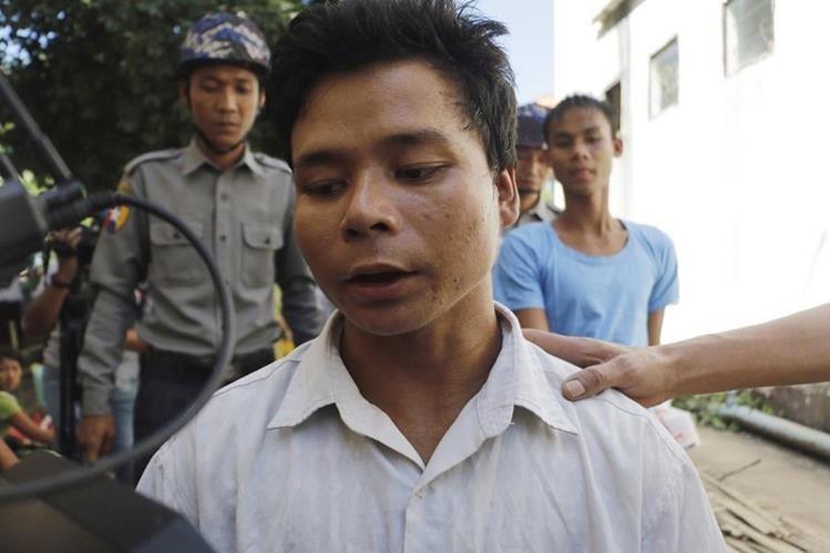 El exorcista Tun Naig fue sentenciado a muerte por matar a tres niños durante ritual. (Foto Prensa Libre: AP)