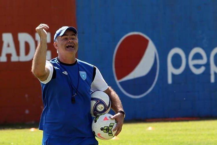 Iván F. Sopegno es el entrenador de la Selección Nacional desde mayo de 2014. (Foto Prensa Libre: Hemeroteca PL)