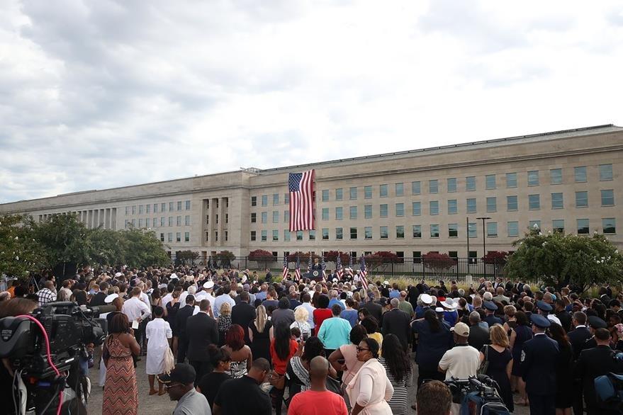 Ceremonia en Washington DC. (AFP)
