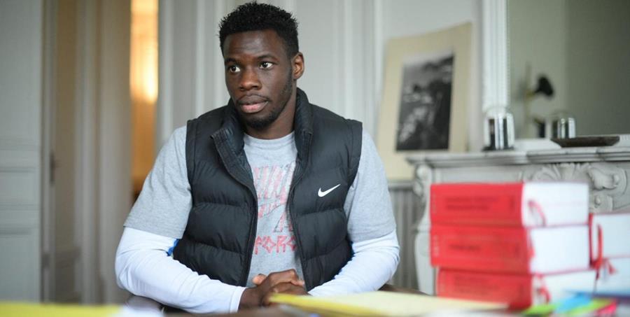 El excampeón de Francia de 400 metros en pista cubierta, Toumany Coulibaly. (AFP).