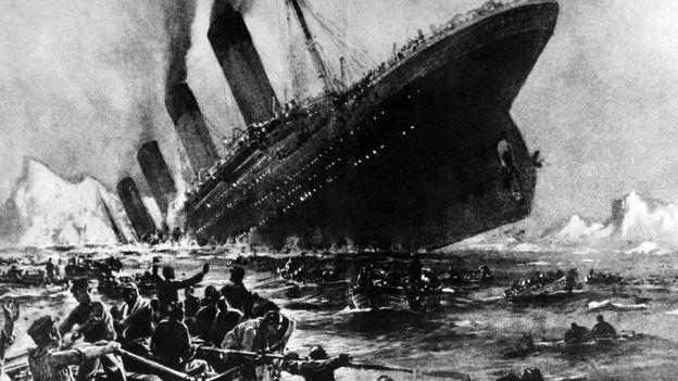 El naufragio causó más de 1.500 muertos. GETTY IMAGES