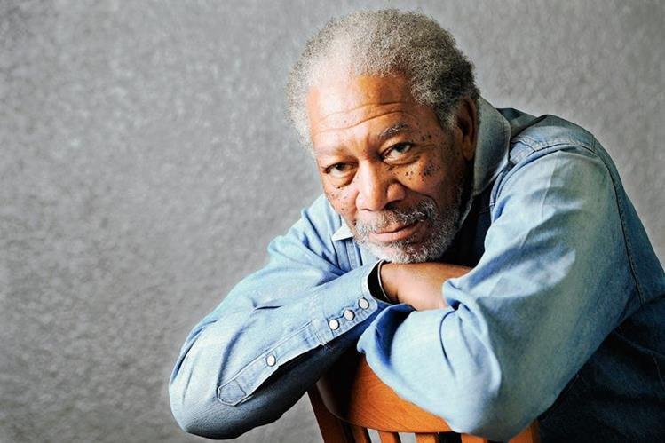 El actor Morgan Freeman, de 78 años, estuvo a punto de sufrir un accidente aéreo.