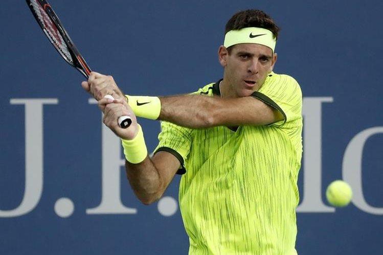 Del Potro logró una reaparición exitosa en el US Open. (Foto Prensa Libre: AP)