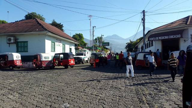 Lugar del ataque, que dejó como saldo la muerte de la niña de cinco años. (Foto Prensa Libre: cortesía)