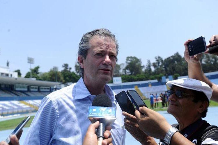 Pedro Portilla, presidente de Comunicaciones, analizó la actuación de su equipo en el Clausura 2017. (Foto Hemeroteca PL).