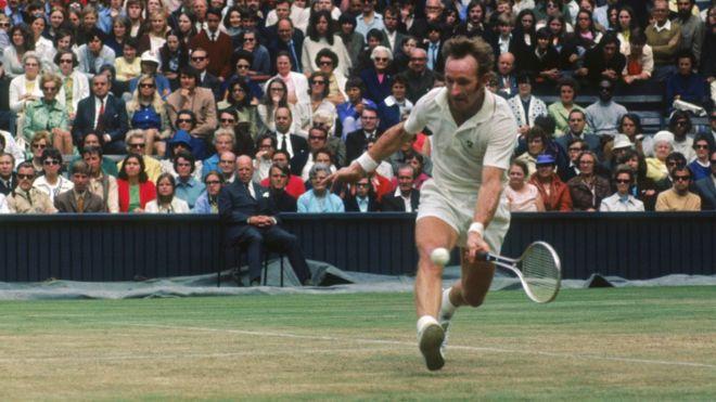 El australiano Rod Laver es el único jugador que ha ganado los cuatro Grand Slams el mismo año, dos veces consecutivas. (Getty Images)