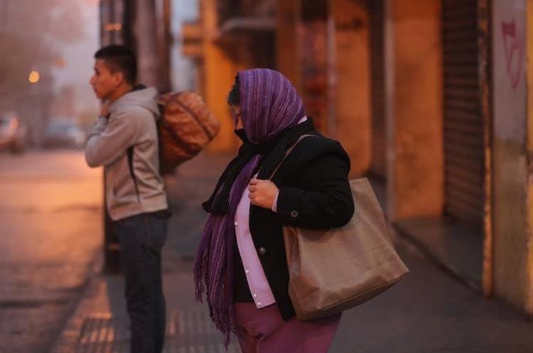 La temperatura en el occidente llegará a los -2 grados. (Foto Prensa Libre: Hemeroteca PL)