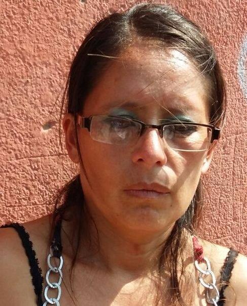 Nesma Lisbeth Licardí Sánchez, de 41 años capturada ayer frente al Hospital Federico Mora (Foto cortesía PNC)