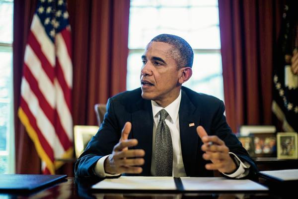 El presidente estadounidense Barack Obama durante un acto en la Casa Blanca. (Foto Prensa Libre: EFE).