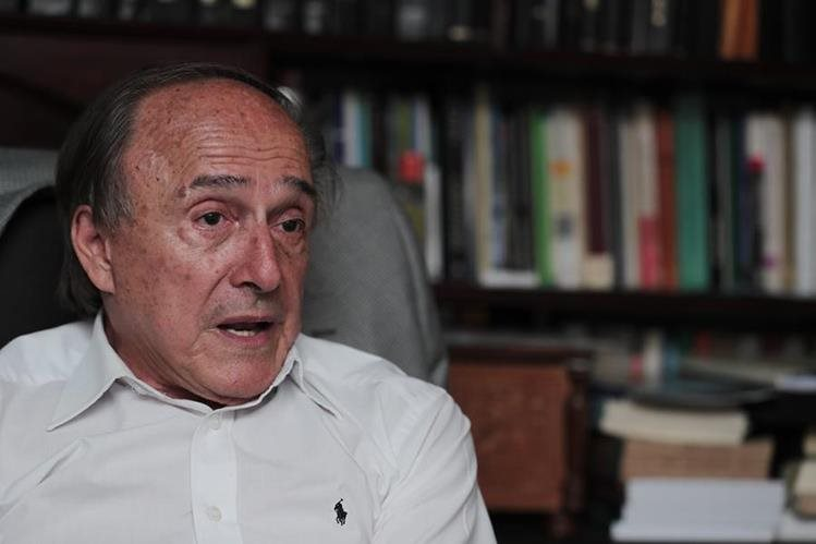 Hugo Maúl Figueroa, abogado y expresidente de la CSJ. (Foto Prensa Libre: Juan Diego González)