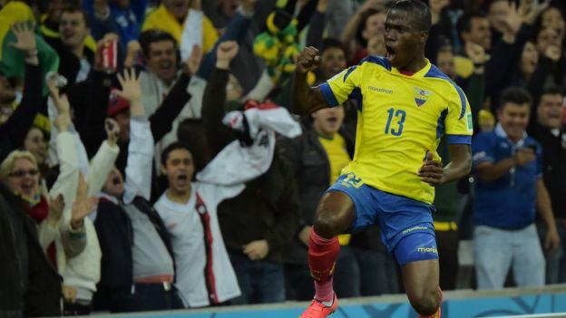 Valencia atrajo interés de varios clubes en el fútbol inglés tras brillar en el Mundial de Brasil. (Getty)