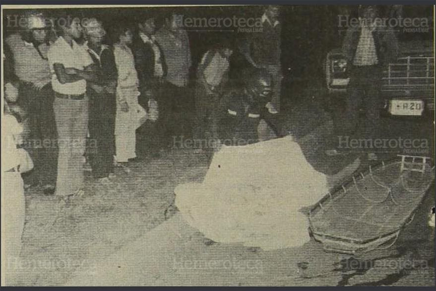 Fray Augusto Ramírez fue asesinado el 7 de noviembre de 1983. (Foto: Hemeroteca PL)