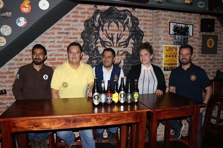 Chelafest tiene fines benéficos en Quetzaltenango. (Foto Prensa Libre: María José Longo)