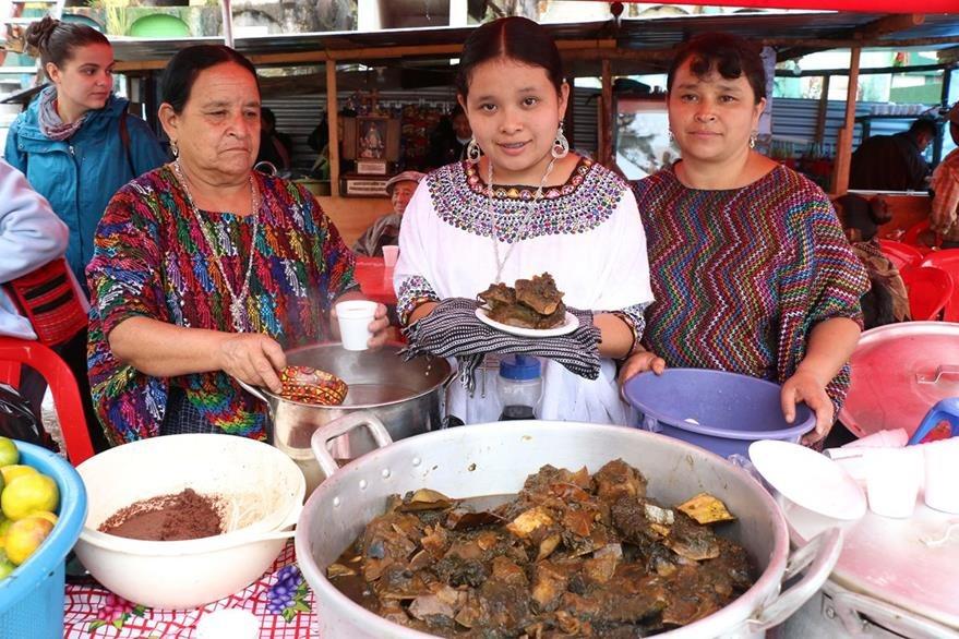COBÁN, ALTA VERAPAZ - Ayote en dulce, es una comida típica para el Día de los Santos en Cobán. Foto Prensa Libre: Eduardo Sam Chun