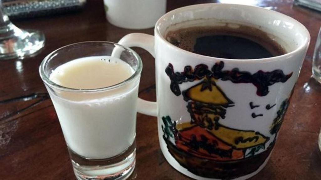 Otra combinación exclusiva: leche de burra y café. KRISTIN VUKOVIC