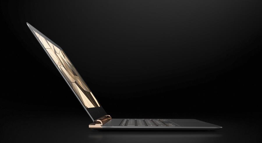 Spectre, DE HP, es la computadora portátil más delgada del mundo. (Foto: Hemeroteca PL).