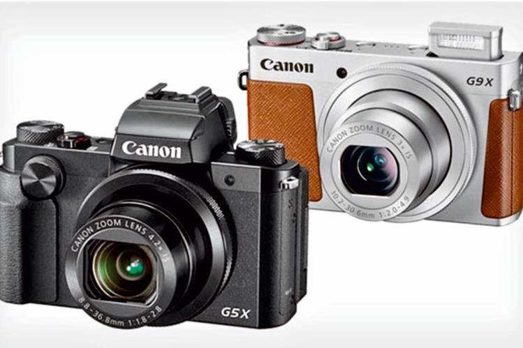 Las power- shot G5 X y G9 X tienen 20.2 MP y ofrecen un diseño retro y muchos controles para lograr fotos de gran calidad.