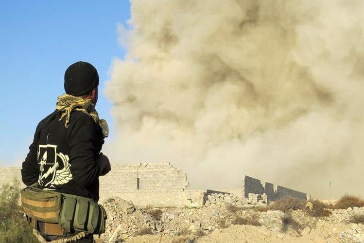 Se avizora próxima victoria de las fuerzas iraquíes en Ramadi frente al EI. (Foto Prensa Libre: AFP).