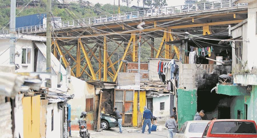 Asentamiento Jesús de la Buena Esperanza, bajo el puente Belice.(Prensa Libre: Hemeroteca PL)