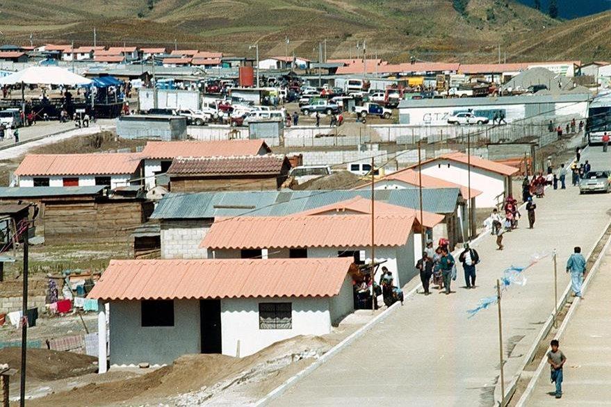La Nueva Santa Catarina, en el km 170, Cumbre de Alaska, en el 2002. (Foto: Hemeroteca PL)