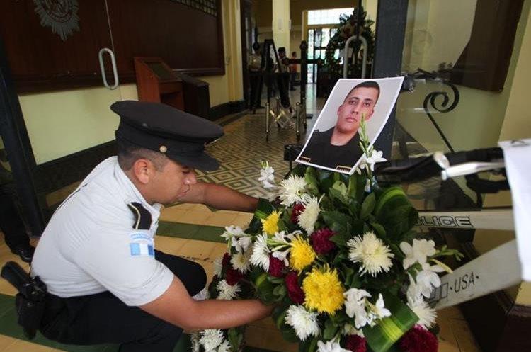 El agente de la PNC Arístides García tenía ocho años de servicio.
