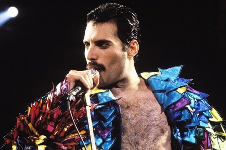 El cantante Freddie Mercury es recordado como uno de los referentes de la música británica( Foto Prensa Libre: HemerotecaPL)