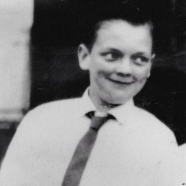 John Kilbride fue el segundo niño en desaparecer. PA