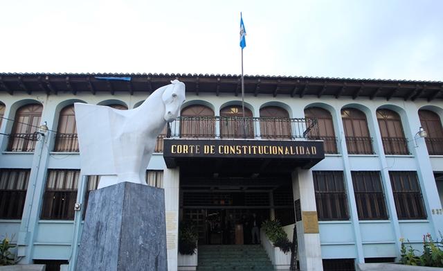 La CC rechazó la acción presentada por el Ejecutivo. (Foto Prensa Libre: Hemeroteca PL)