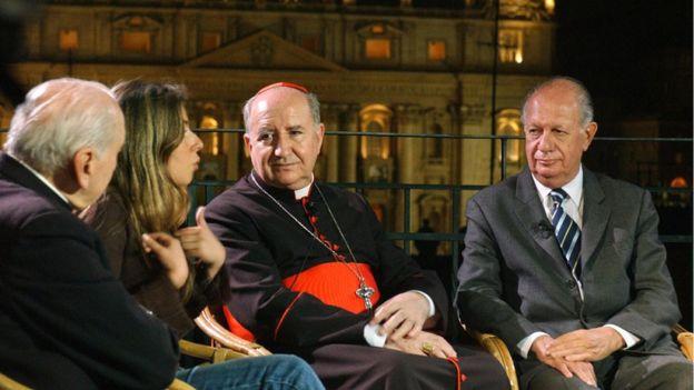 El cardenal Errázuriz justificó la lentitud de la iglesia aduciendo que las denuncias contra Karadima no le habían parecido creíbles.(AFP)