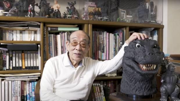 El actor japonés Haruo Nakajima, conocido por dar vida a Godzilla en una docena de películas, murió a los 88 años ayer en la tarde. (Foto Prensa Libre: EFE)
