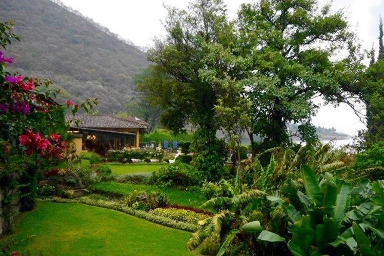 El Hotel Atitlán en Panajachel fue uno de los favoritos.