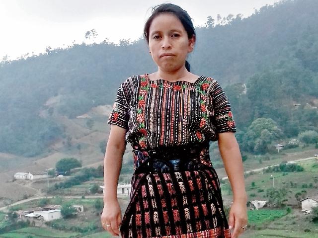 Angelina Saloj  murió el 15 de septiembre  en labores de parto.