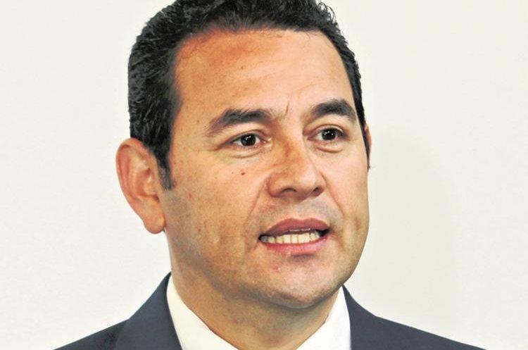 Jimmy Morales, candidato presidencial por FCN Nación