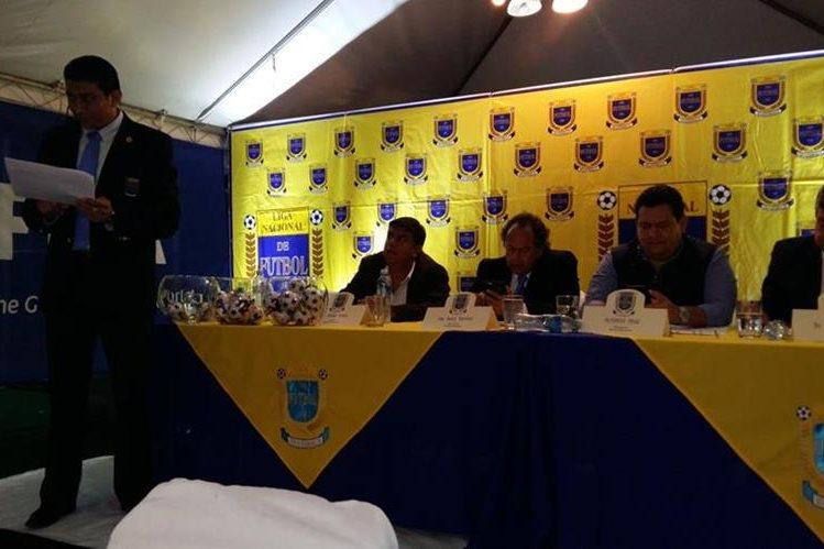 Este viernes se realizó la Asamblea de la Liga Nacional. (Foto Prensa Libre: Twitter La Liga GT)