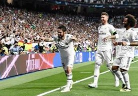 El Bernabéu festejó el triunfo contra la Roma