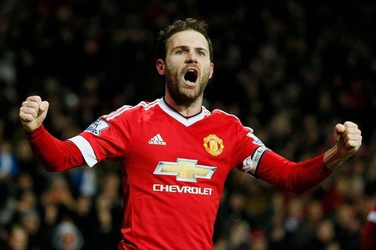Juan Mata será una baja sensible en el Manchester United. (Foto Prensa Libre: Hemeroteca PL)