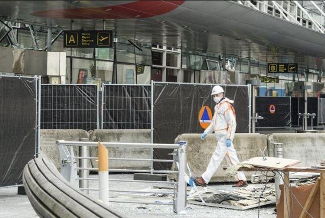 El atentado perpetrado en el aeropuerto de Bruselas causó al menso 14 muertos. (Foto Prensa Libre: Hemeroteca PL).