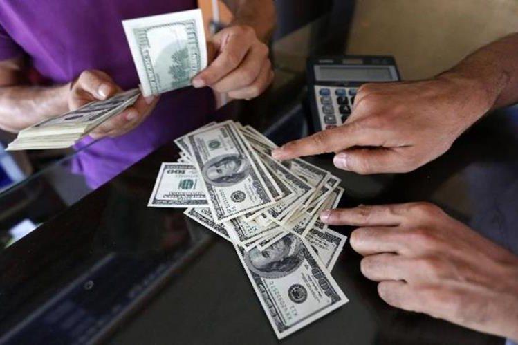 Las remesas familiares representan alrededor del 10% del PIB de Guatemala. (Foto Prensa Libre: Hemeroteca PL)