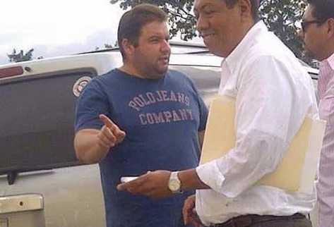 Momento de la detención de Roberto Barreda en Mérida, Yucatán. (Foto Prensa Libre: Presidencia)