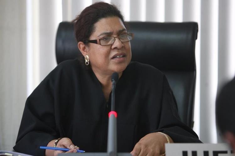 Judith Secaida, jueza quinta penal. (Foto: Hemeroteca PL).