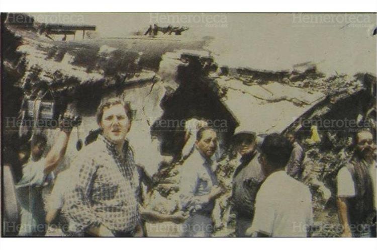 La magnitud del accidente aéreo, enlutó a varias familias guatemaltecas. 5/5/1990 (Foto: Hemeroteca PL)