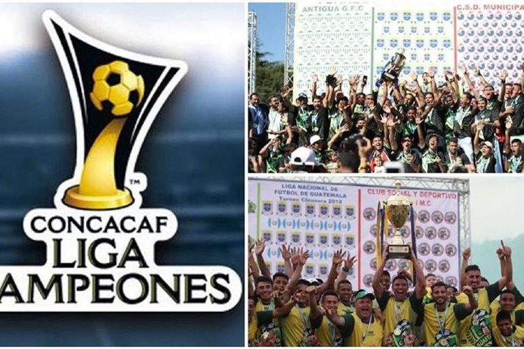 La Liga de Campeones de la Concacaf 2019 contará con la presencia de Antigua GFC o Deportivo Guastatoya en la casilla de Guatemala 1. (Foto Prensa Libre: Hemeroteca PL)