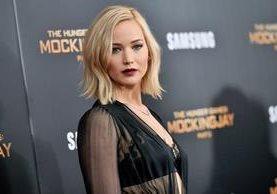 La actriz Jennifer Lawrence se embolsó US$46 millones en un año. (Foto Prensa Libre: AP)