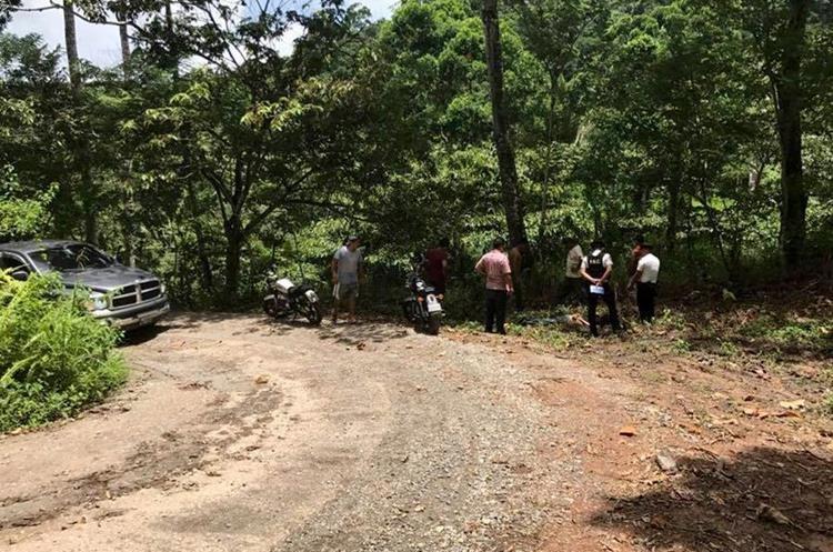 Varios crímenes han ocurrido en lugares desolados.(Prensa Libre: Dony Stewart.)