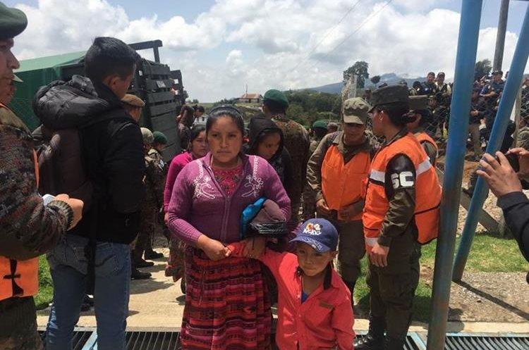 El retorno se hizo hacia la aldea Las Brisas, Tajumulco, San Marcos.